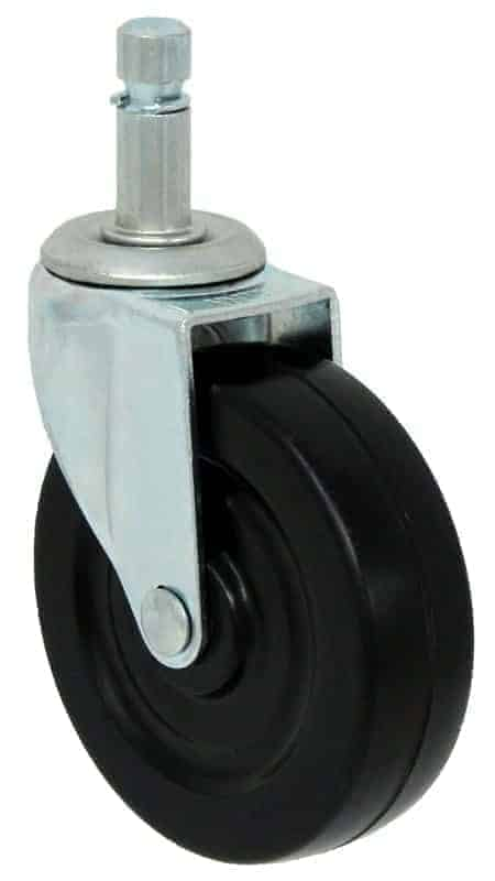 2″ Hard Rubber 7/16″ Grip Ring Stem