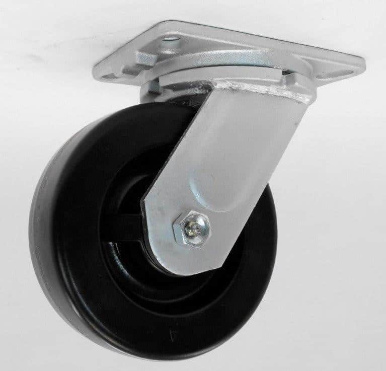 Swivel Phenolic Caster 4-1/2 x 6-1/4 Top Plate