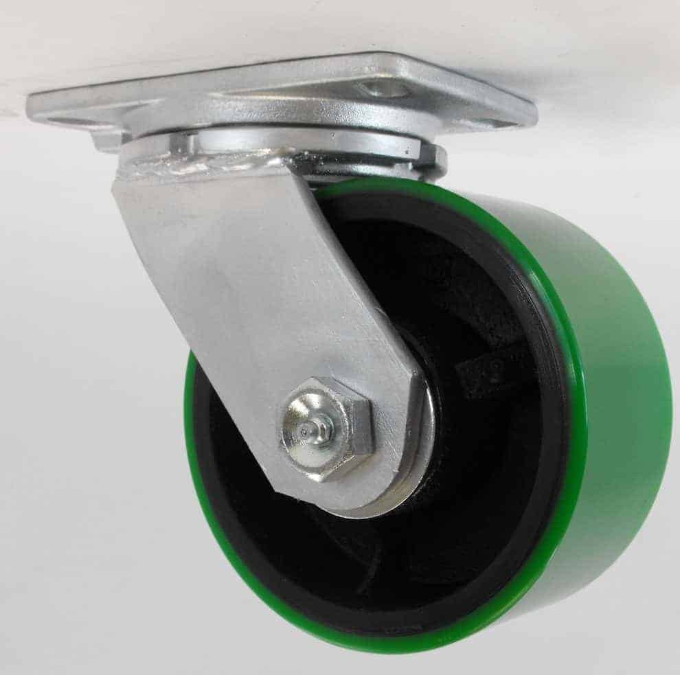 Swivel Kingpinless Polyurethane Steel Caster