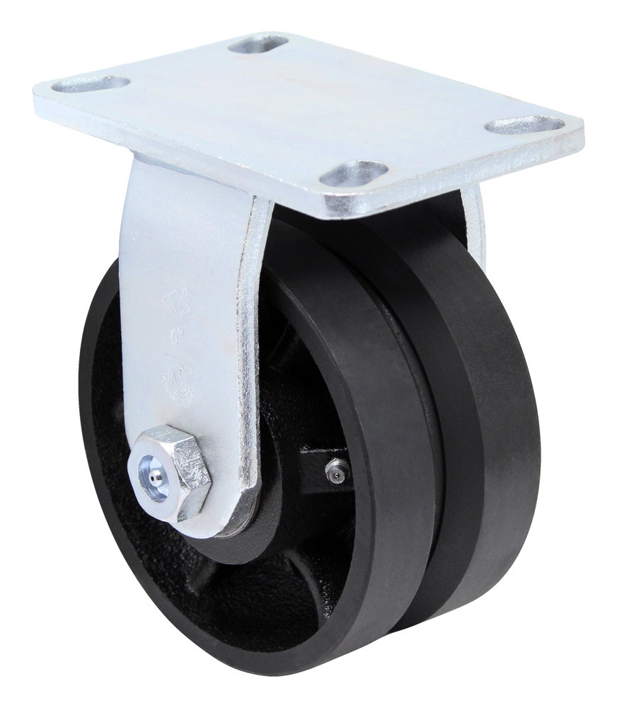 8″ Rigid V Groove Top Plate 4-1/2″ x 6-1/4″