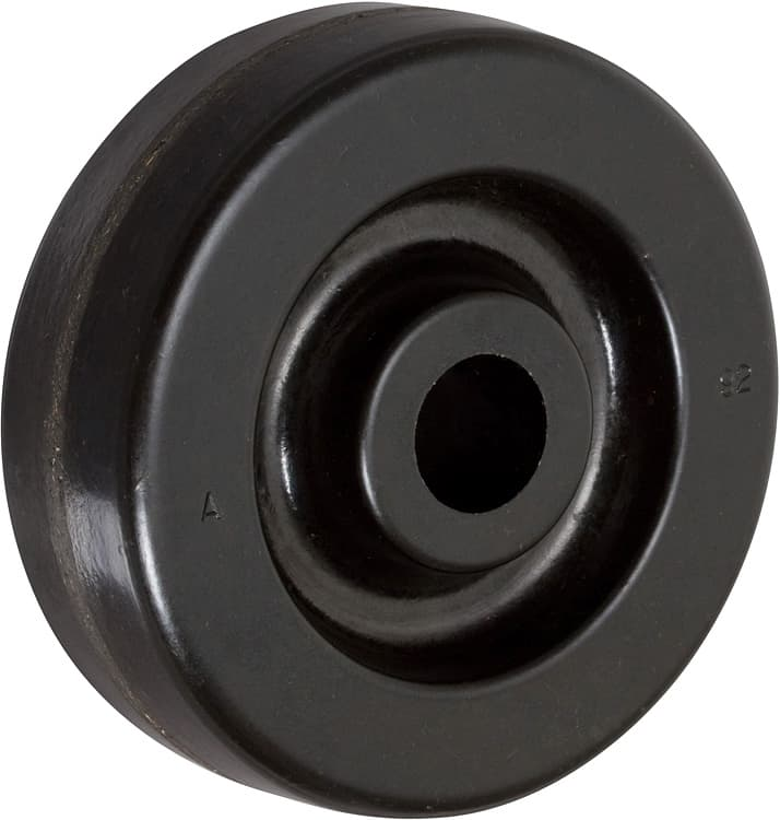 4″ Phenolic Wheel With 2-3/16″ Hub 3/4″ Roller Bearing 800 Lbs Capacity