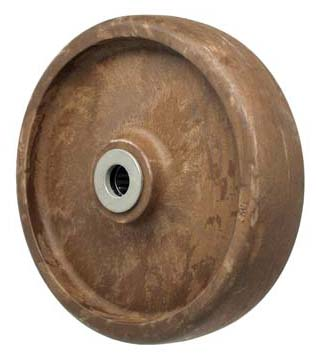 6″ High Temp Glass Filled Nylon  Wheel With 3/4″ Plain Bore 2-3/16″ Hub 1100 Lbs Capacity
