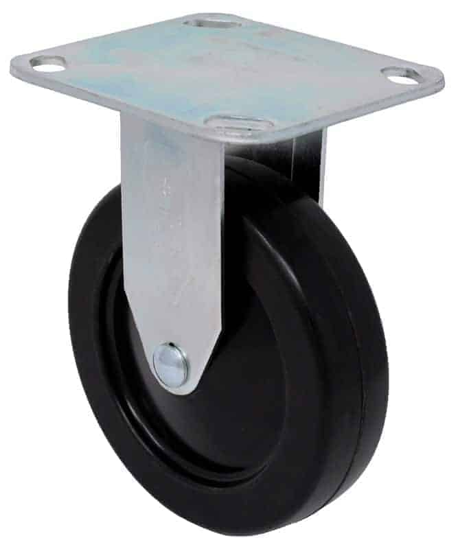 3″ Rigid Hard Rubber Top Plate 2-3/8 x 3-5/8