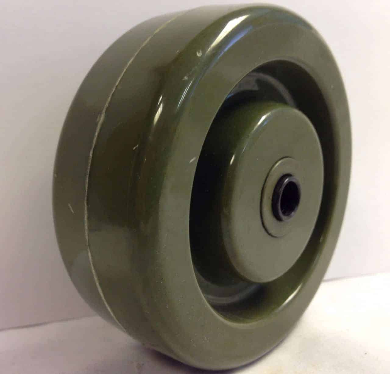 4″ High-Temperature Epoxy With 3/8″ Precision Ball Bearing 1-5/8″ Hub 700 Lbs Capacity
