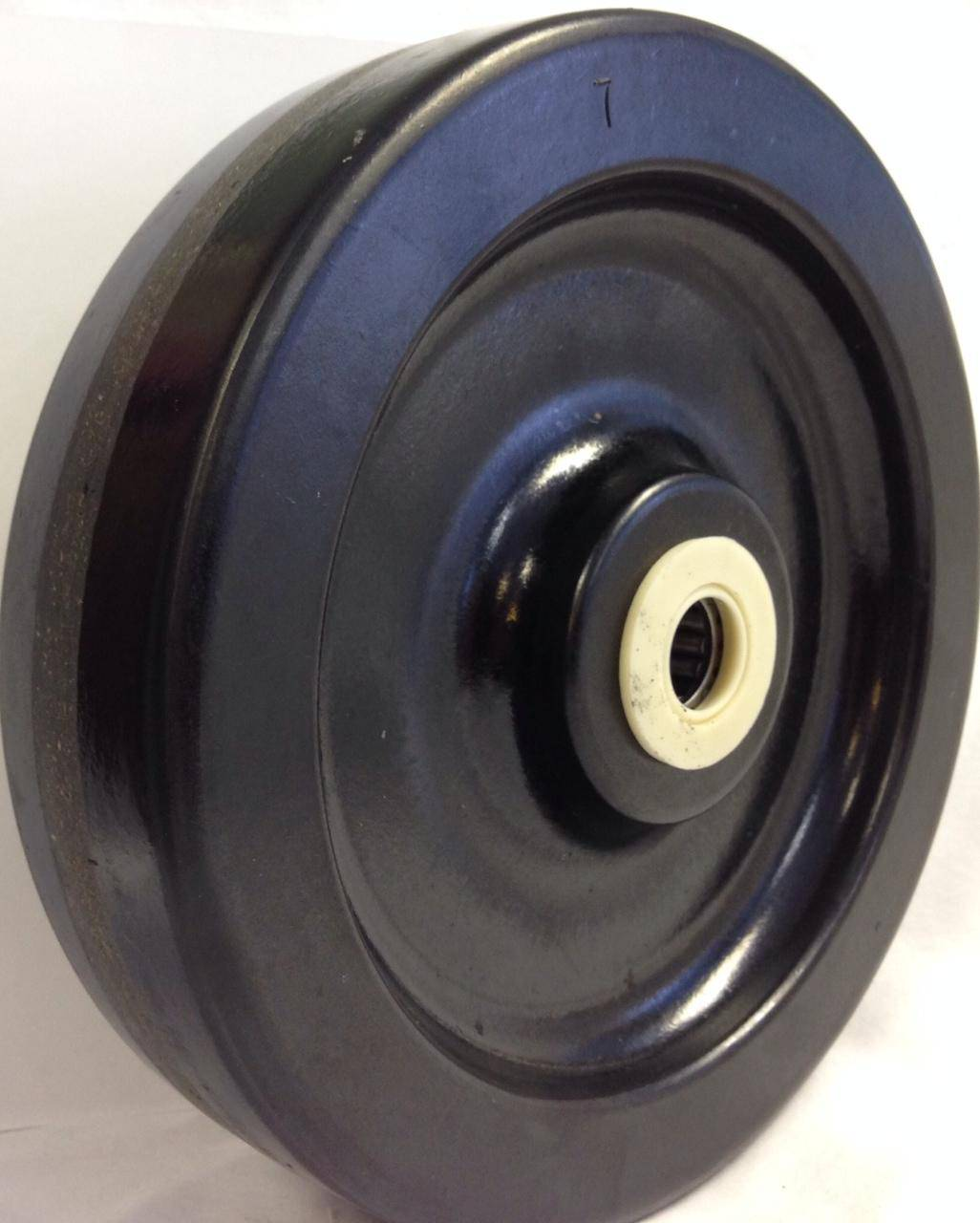 8″ Phenolic Wheel With 3-1/4″ Hub 1″ Roller Bearing 2500 Lbs Cap