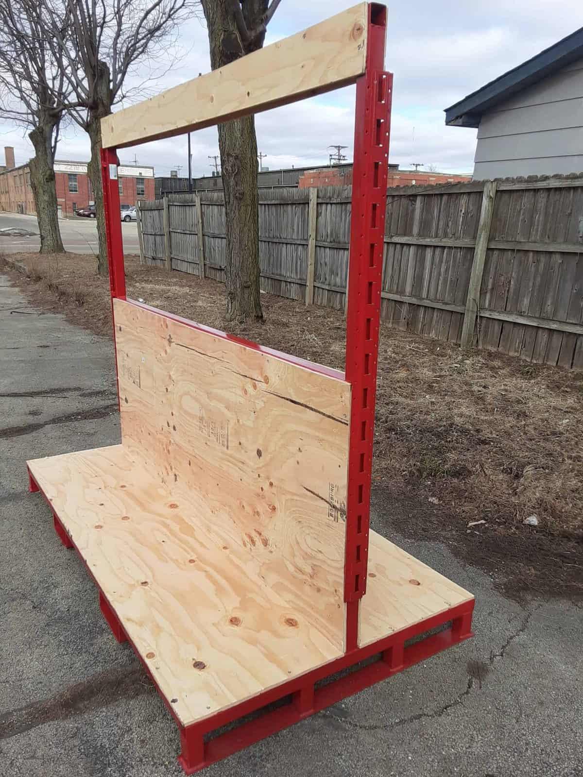 Red Door Truck